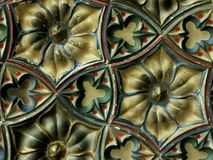 Faience tiles Royalty Free Stock Photo