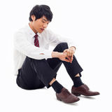 Fail Asian business man Stock Images