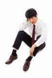 Fail Asian business man Royalty Free Stock Photography