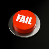 Fail Button Stock Photography