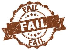 Fail stamp Stock Images