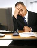 Failed Financial Advisor Royalty Free Stock Image