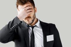 Failed management. Stock Image