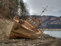Failed ship HDR Royalty Free Stock Image