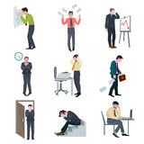 Failure Business Set Stock Images
