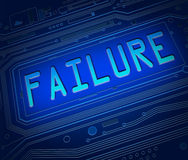 Failure concept. Royalty Free Stock Images