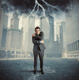 Failure. Concept of failure due to business crisis Royalty Free Stock Image