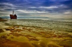 Failure concept, shipwreck Stock Photo