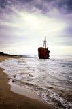 Failure concept, shipwreck Stock Photography