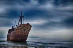 Failure concept, shipwreck Stock Photos