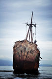 Failure concept, shipwreck Stock Image