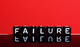 Failure red Stock Images