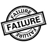Failure rubber stamp Stock Images
