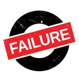 Failure stamp rubber grunge Royalty Free Stock Photography