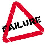 Failure stamp rubber grunge Stock Photography