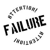Failure stamp rubber grunge Royalty Free Stock Images