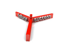 Failure success Royalty Free Stock Photos