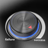 Failure success controller Stock Photography