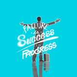 Failure Success Progress Business Investment Concept Royalty Free Stock Images