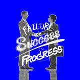 Failure Success Progress Business Investment Concept stock photos