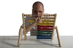 Failureof a businessman stock image