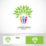 Faimily tree logo Royalty Free Stock Photography