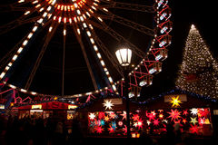 Fair at Alexanderplatz Royalty Free Stock Image