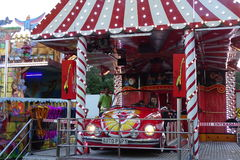 Fair attraction, car for children Stock Photography