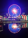 Fair Chicago& x27;s wheel Stock Photo