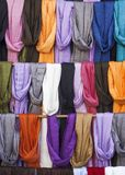 Neckerchief. Fair decorations for girls neckerchief textile Royalty Free Stock Photography