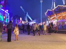 Fair in the Evening Royalty Free Stock Image