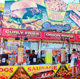 Fair Fast Food Stand Royalty Free Stock Image