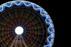 Fair ferris wheel at night Stock Photography
