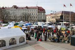 Fair and festival are devoted to the termination of winter Stock Images
