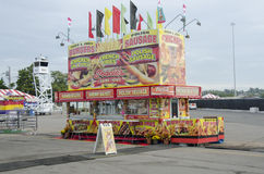 Fair Food stand Royalty Free Stock Image