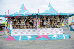 Fair game booth Stock Image