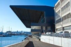 Fair of Genoa. Modern buildings of the Fair of Genoa royalty free stock image