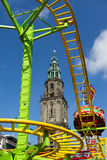 Fair ground Groningen Stock Images