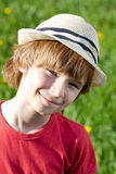 The fair-haired boy Stock Image