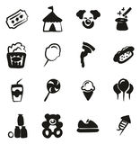 Fair Icons Freehand Fill Stock Images