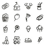 Fair Icons Freehand. This image is a illustration and can be scaled to any size without loss of resolution Stock Photo