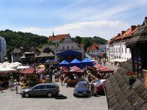Fair in Kazimierz Dolny Royalty Free Stock Image