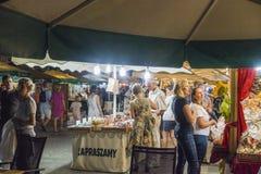 Fair in Krakow Royalty Free Stock Photography