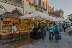 Fair in Krakow Royalty Free Stock Photo
