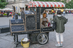 Fair in Krakow royalty free stock photography