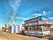 Fair midway Royalty Free Stock Photos