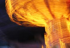 Fair Motion. Close up of Carousel ride blur stock photos