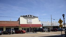 Fair Movie Theater, Somerville Tennessee royalty free stock images