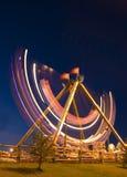 Fair at night Stock Photo