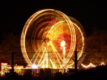 Fair at night Royalty Free Stock Photography